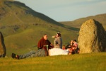 Before 6am at castlerigg stone circle
