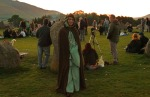 Paul from brampton dressed up in pagan robes for the occasion