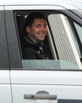 Land Rover at Carlisle Racecourse, nice smile for camera
