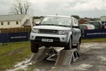 Range Rover at Carlisle Show demonstrating its capabilities