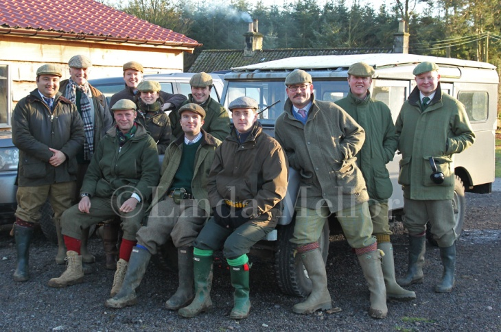 Balbirnie shooting party