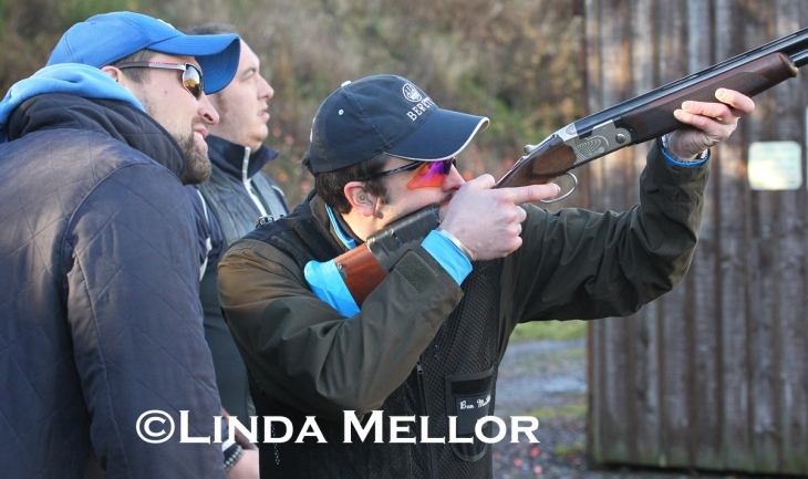 Shotgun coaching with Ben Husthwaite, Auchterhouse, Scotland