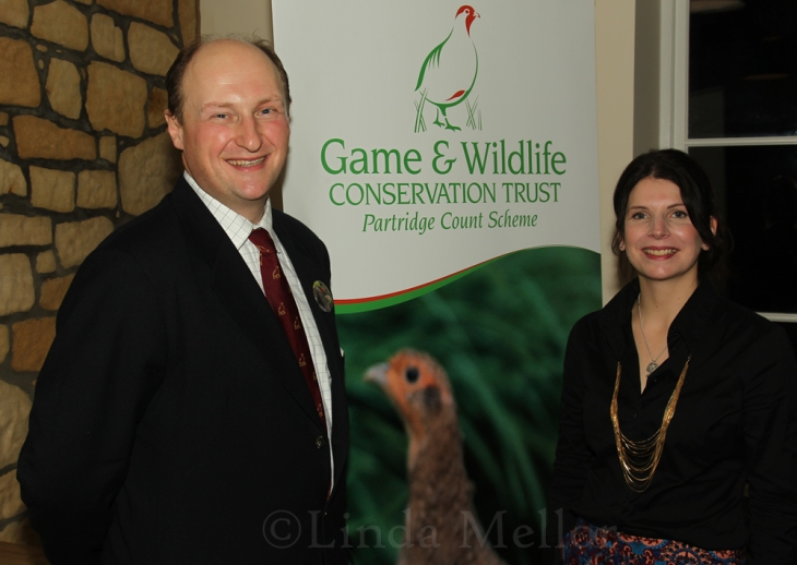 GWCT Scotland Dr Adam Smith and Katrina Candy