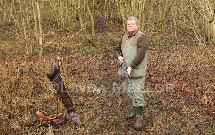 Driven shooting portrait - Donald Kirk