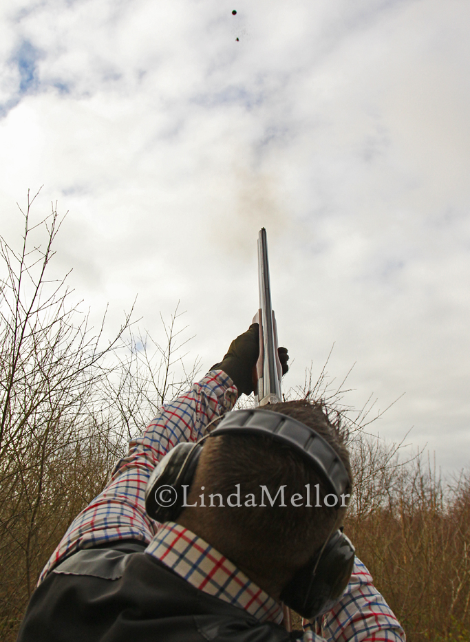 Shooting clays with Eddy Buchan of Cluny Clays