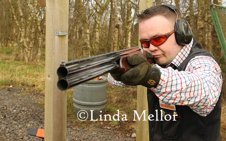 Eddy Buchan, Shoot Manager of Cluny Clays