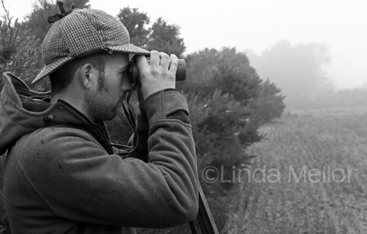 Johnny Readhead, professional deer stalker