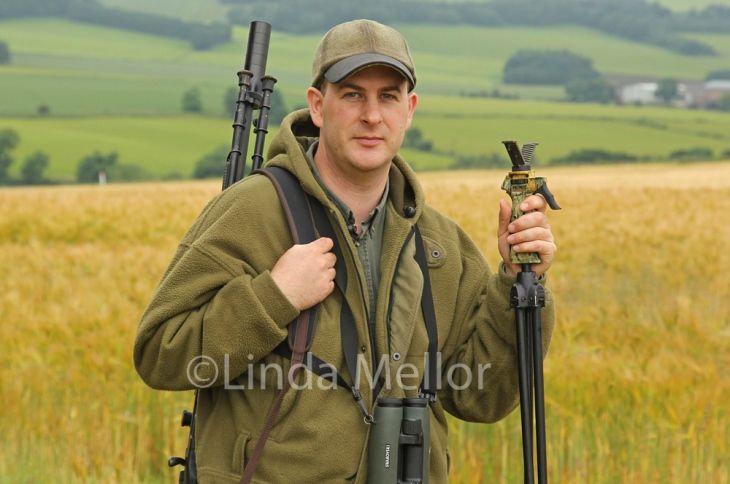 Professional deer stalker Mark Robson, Fife