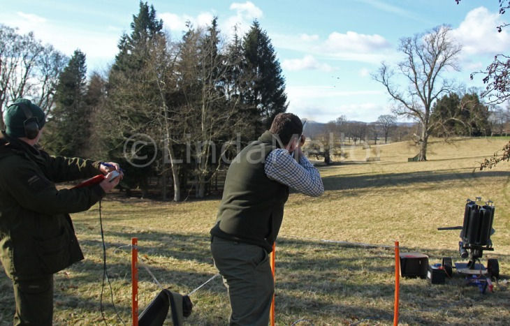 BASC Gamekeepers Day, Scone Palace - clay pigeon competition