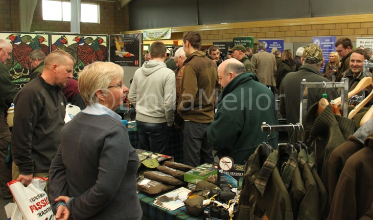 Deer Stalking Fair, Kelso, Scotland March 2013