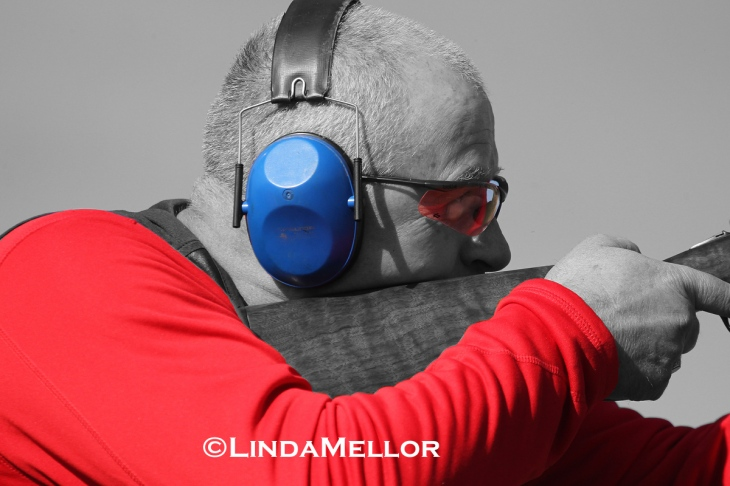 Clay coach Ron Maxwell Scottish Clay Shooting Centre, Fife