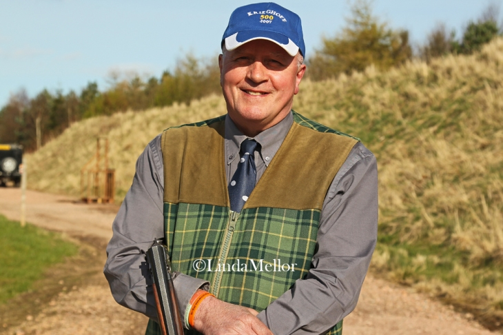 Ron Maxwell Scottish clay shooting centre's head shotgun coach
