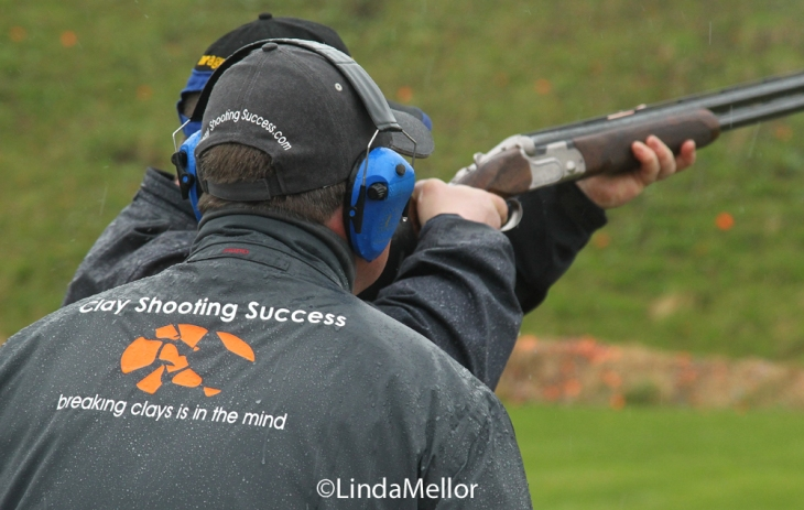 Clay shooting Masterclass with Phil Coley and Ben Husthwaite, Auchterhouse Country Sports, Scotland