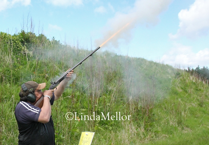 Black powder muzzle loading shotguns