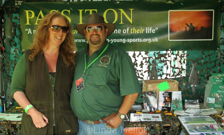 linda mellor and rob collins, west cumbria game fair
