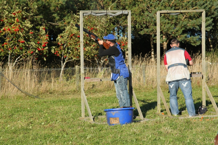 Charity Clay Shoot, Belwade Farm, Scotland