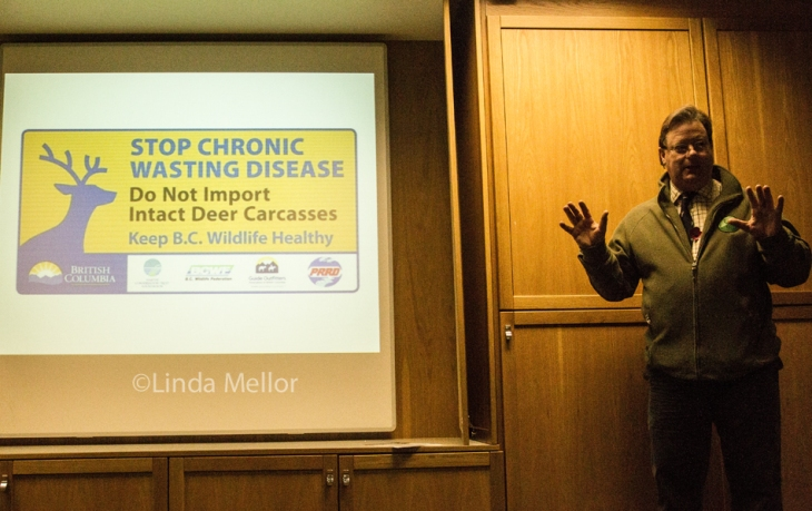 john bruce discussing chronic wasting disease in deer