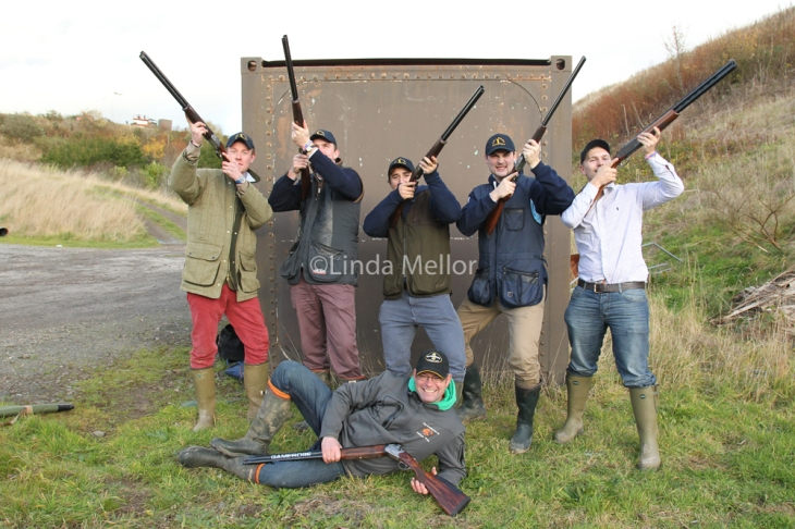 St Andrews Uni Clay Shoot Challenge 2013 - Gloucestershire Boys team