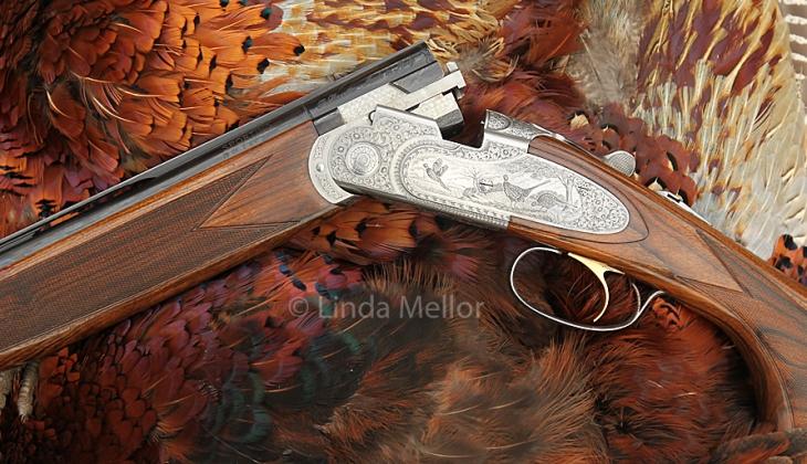 28 bore shotgun and cock pheasants