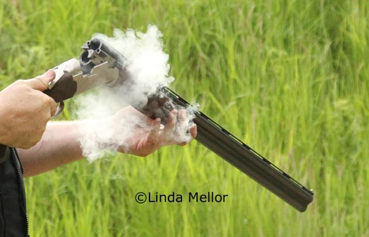smoking gun #clayshooting