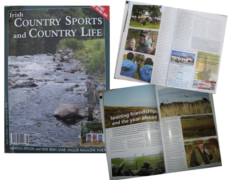 Irish Country Sports and Country Life Spring 2014