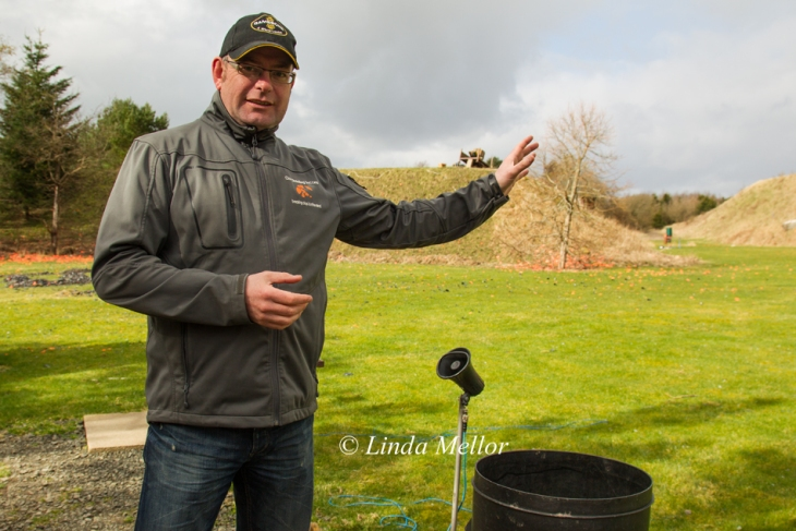 Phil Coley, the shooting mental training expert - Trap shooting with Linda Mellor