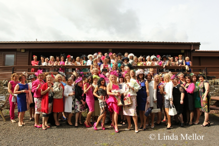 perth races ladies day pre-race drinks at auchterhouse