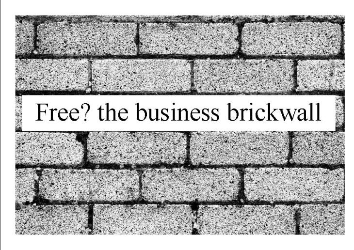 business brick wall