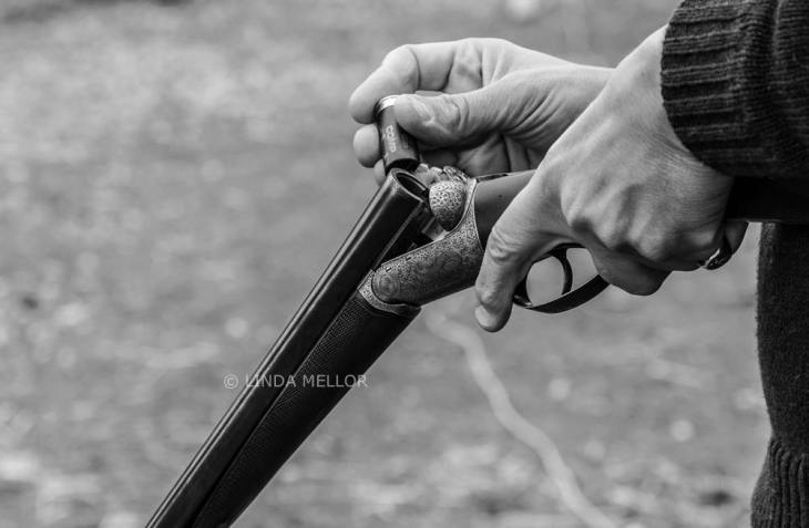 Black Grouse Charity Clay shoot held at Auchterhouse Country Sports.