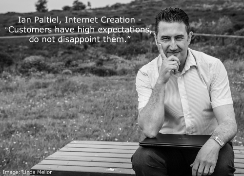 Ian Paltiel, Commercial Director of Internet Creation
