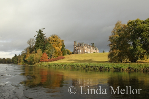 Meikleour house, Perthshire