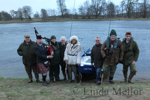 2015 salmon season open on the Tay 15th January at Meikleour