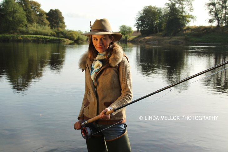 Lady Angler Claire Mercer Nairne of Meikleour