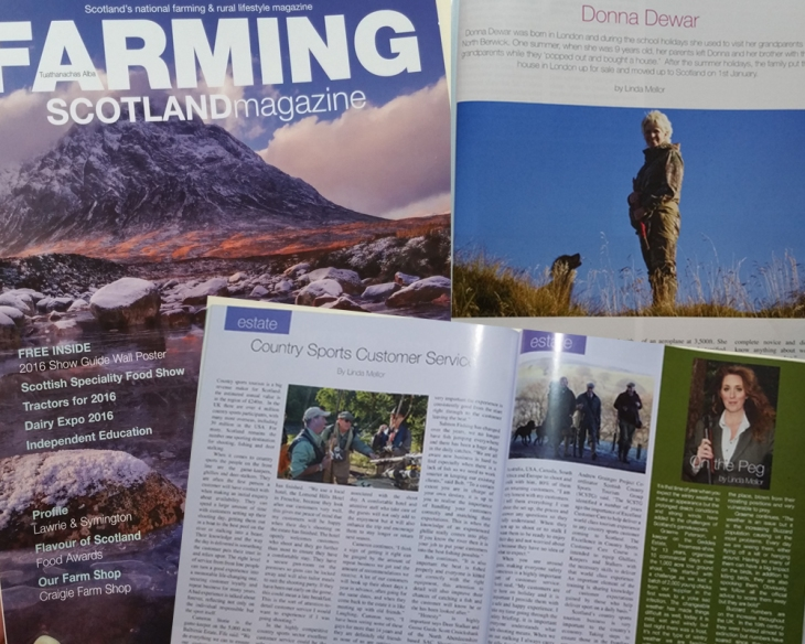 Farming Scotland Magazine February 2016 issue with content from Linda Mellor
